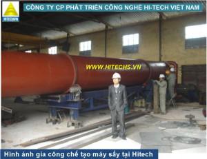 Máy sấy lõi ngô 2 tấn Hitech 200