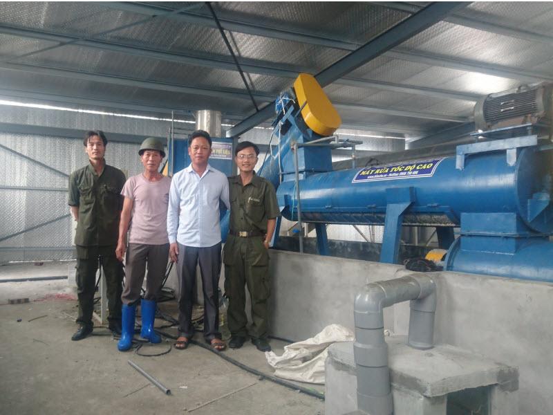 Dây chuyền tái chế nilon Hải Phòng 2015