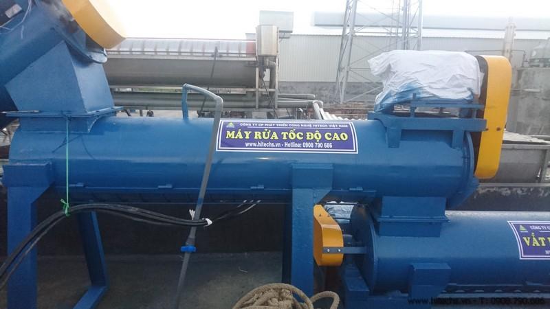 Máy rửa nilon túi bóng tốc độ cao Hitech0908790686