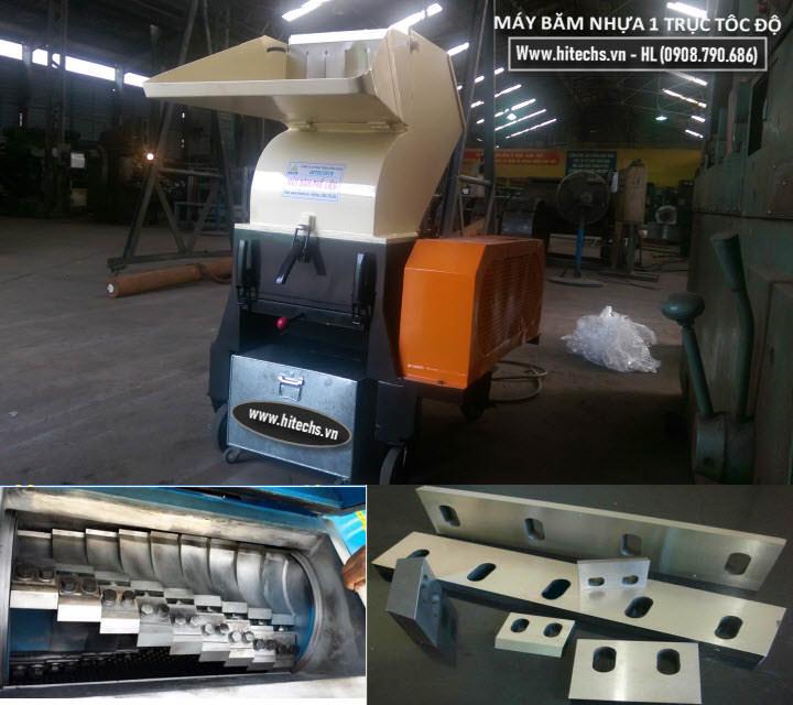 Máy xay nhựa hitech-1T40010J. Máy chế tạo cho Japan tại Biên Hòa 2015