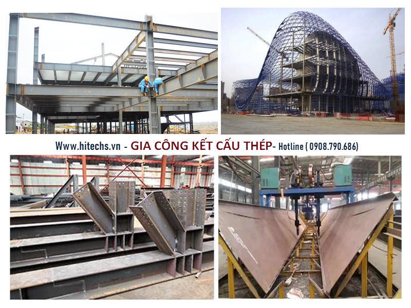 chế tạo kết cấu cơ khí, thi công kết cấu thép nhà xưởng chất lượng cao tại HITECHVN