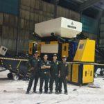 Máy Nghiền rác vải vụn lớn hitech2T2000