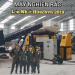 Máy nghiền rác công nghiệp lớn